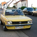 Opel Kadett Front